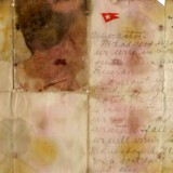 Et brev skrevet den 13. april 1912 er solgt for en million kroner. Brevet blev fundet på fra Alexander Oskar Holversons lig. Han omkom ved Titanics forlis. Foto: Henry Aldridge & Son/Handout via REUTERS
