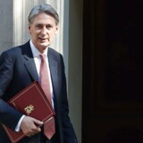Finansminister Philip Hammond. Arkivfoto.