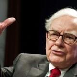 Multimilliardæren Warren Buffett er blandt de rigeste i verden.