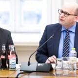 Folketingets Retsudvalg har kaldt justitsminister Søren Pape Poulsen (KF) i åbent samråd om en ny politiskole i Vestdanmark. Samrådet er åbent for alle og finder sted torsdag den 15. december 2016 kl. 14.00. (Foto: Martin Sylvest/Scanpix 2016)