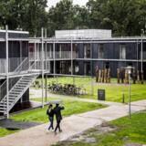 Officiel indvielse af Hempel Kollegiet på Danmarks Tekniske Universitet I Kongens Lyngby onsdag den 13. September. Det nye kollegie indeholder studieboliger til 200 studerende og er 7.400 kvadratmeter og muliggjort efter en stor donation fra Hempel Fonden.