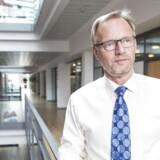 Jyske Bank-direktør Anders Dam - Her i hovedsædet i Silkeborg.