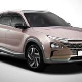 Hyundais nye brintbil får omkring 160 hk, en rækkevidde på over 700 km og en pris der ligger markant under forgængeren ix35 FuelCell's. Foto: PR