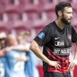 27.08.2017 ALKA Superliga FC Midtjylland - Lyngby BK. Lyngby udligning til 1 - 1 dybt inde i overtiden. - Målscorer David Boysen (Lyngby - 21)