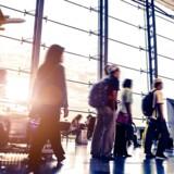 Arkivfoto. Et voksende antal rejsende er med til at fastholde sund forretning i Københavns Lufthavn.