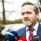 ARKIVFOTO: Danmarks udenrigsminister Anders Samuelsen kaldes i samråd om børnearbejde
