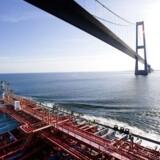 ARKIVFOTO: Torm skib