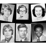 De amerikanske forskere fra Brown og Berkeley har via et computerprogram sirligt målt smilene på knap 38.000 mænd og kvinder fra de amerikanske High School årbøger. Foto: A Century of Portraits: A Visual Historical Rekord of American High School Yearbooks.