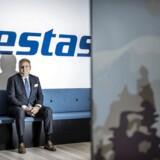 Vestas med topchef Anders Runevad (billedet) i spidsen har netop offentliggjort sit regnskab for årets første tre måneder.