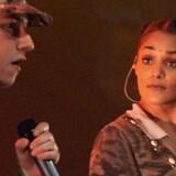 Natasja Saad gjorde sit indtog i musikbranchen allerede som 13-årig. Scanpix/Mogens Flindt/arkiv