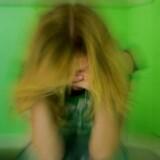 MODELFOTO af kvinde med depression- - Se RB 6/11 2014 13.41. Kvinder, der har været udsat for sexchikane, har større risiko for at udvikle angst og depression, viser forskning fra Norge. Det skriver Fagbladet 3F. (Foto: Jeppe Carlsen/Scanpix 2012)