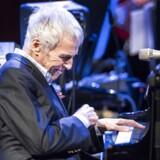Komponisten og pianisten Burt Bacharach i DR Koncerthuset, søndag aften.