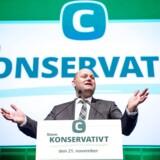 De Konservatives landsråd 2017 i Tivolis Hotel & Congress Center. Her er det Søren Pape på talerstolen.