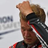 Kevin Magnussen (Haas) var langsomst af alle i kvalifikationen til søndagens Formel 1-grandprix. (Foto: /Scanpix 2017)