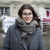 Formand for Danske Studerendes Fællesråd Sana Mahin. (Foto: Liselotte Sabroe/Scanpix 2017)