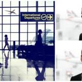kasper Hounsgaard (øverst) og Anders Dohn vil gøre turen gennem verdens største lufthavne hurtigere.