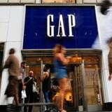 Arkivfoto. Den amerikanske tøjkæde Gap ramte plet i forhold til analytikernes forventninger i koncernens regnskab for fjerde kvartal af det forskudte regnskabsår 2016/2017.