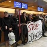 Organisationerne Welcome to Denmark og Ingen Udvisninger Uden Modstand står bag en aktion i Københavns Lufthavn mandag morgen d. 1. august 2016, hvor den første af tre lesbiske kvinder fra Uganda stod til at blive udvist, efter at de har fået afslag på asyl. Udvisningen har fået kritik, da der i Uganda er lovgivning mod homoseksuelle.