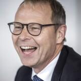 Pressemøde i Nykredit. Koncernchef Michael Rasmussen.