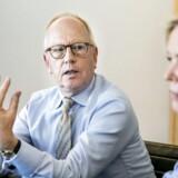 Britiske Mike Parton bliver midlertig bestyrelsesformand hos TDC. Pernille Erenbjerg fortsætter foreløbig som CEO, indtil en ny er fundet.