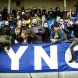 Lyngby har altid haft en hård kerne af meget dedikerede tilhængere. Det har bare ikke været nok til at skikre den økonomiske overlevelse i krisetider. Foto: Carsten Snejbjerg/The New York Times.