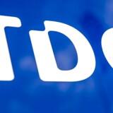 TDC kan stadig ende med at blive afnoteret fra børsen i København. Det fremgår af en meddelelse fra konsortiet, der netop har sikret sig 88 pct. af aktiekapitalen i TDC på baggrund af et købstilbud på 50,25 kr. per aktie. (Foto: Mads Claus Rasmussen/Scanpix 2018)