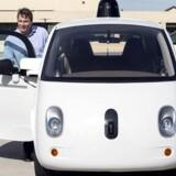 Chris Urmson, direkør for Googles projekt med selvkørende biler, har sagt sit job op. Han har været Googles ansigt udadtil på området, som han selv har bygget op. Arkivfoto: Elijah Nouvelage, Reuters/Scanpix