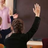 Der blev givet 45 påbud for vold mod lærere sidste år. Genrefoto.