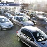 Januar viste endnu en gang en markant stigning i antallet af nyregistrerede biler, skriver Danmarks Statistik.