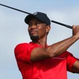 Woods træner på højtryk for at komme tilbage fra den rygskade, der har holdt ham ude i lange perioder de seneste år.