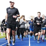 Danmark er kåret som europamestre i motion. Her er det løbere på Østerbro Stadion.