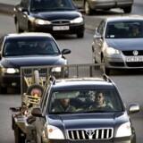 Transportminister Ole Birk Olesen (LA) nedsætter nu et fremkommelighedsudvalg, som skal sikre, at lyskryds på tværs af hovedstadsområdets kommunegrænser er koordinerede.