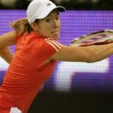 Justine Henin-Hardenne har nu tre førstepladser lige som løberen Marita Koch.