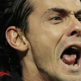 Filippo Inzaghi scorede kampens eneste mål, da AC Milan slog Celtic 1-0 hjemme på San Siro. Begge hold går videre i turneringen.
