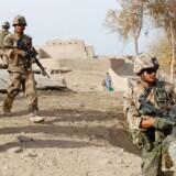 Danske soldater fra Sandford-lejren på patrulje i Helmand-provinsen. Arkivfoto: Christian Brøndum