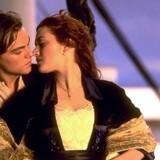 """Leonardo DiCaprio og Kate Winslet spillede over for hinanden i historiens bedst indtjenende film, """"Titanic""""."""