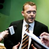 Finansminister Lars Løkke Rasmussen afviser, at regeringen begår løftebrud, når de fremsætter en ny finanslov. Der er derimod tale om at udvise rettidig omhu.  Foto: Christian Als.