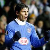 19-årige Sergio Agüero har lige fjernet håbet om et  UEFA Cup-eventyr for FCK. Foto: Jeppe Michael