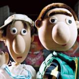 Ali og Hossan er to af hovedfigurerne i Yallahrup Færgeby, der på musikfronten også byder på masser af humor. Pressefoto
