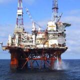 Alpha-platformen i Nordsøen. Foto: Reuters