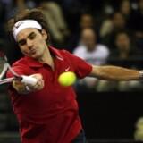 Roger Federer vandt i år tre Grand Slam-turneringer samt den afsluttende Masters Cup. Foto: Ted Aljibe.