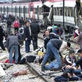 De ansvarlige for terrorangrebet 11. marts 2004 blev i går dømt. 21 personer fik straffe i sagen. Alligevel åbner dommen for konspirationsteorier om, hvem der stod bag. Arkivfoto: Reuters/El Pais