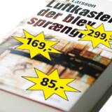 Bilka, Gyldendal og Saxo trækker nye prisfronter op.  Grafik: Hans Færch