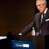 Peter Straarup og Danske Bank er analytikernes favorit i 2008. Arkivfoto: Brian Berg