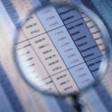 I visse virksomheder bliver der kikket med lup efter decimalerne - det går nemlig langtfra godt. Foto: Colourbox