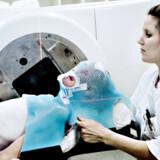 Rigshospitalet CT-scanner to kræftpatienter i timen. Region Hovedstaden ønsker over en halv mia. kr. til scannere, lønninger og bygninger. Arkivfoto: Brian Berg