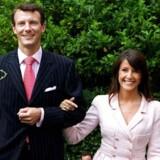 Prins Joachim og Marie i sommeren 2007. Foto: Scanpix