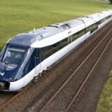 DSBs nye IC4-tog. Her et rigtigt et af slagsen.
