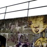 Det foreslås at bevare noget af graffitien i København for eftertiden, eksempelvis som her ved Charlottenlund Fort. Foto: Kristian Sæderup