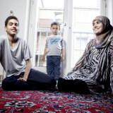 Fatima Labrouzi har valgt at sende sin søn Bassim på Friskolde. Foto: Erik Refner